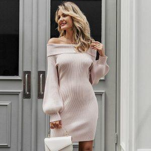 Bohemian Long Sleeve Winter Dress