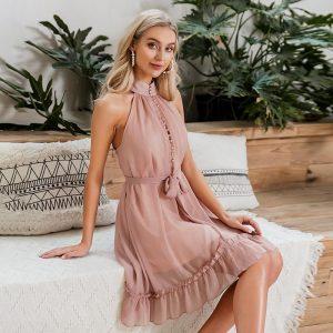 Elegant Bohemian Esprtit Short Dress