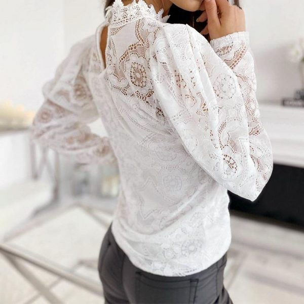 Bohemian Chic Lace Blouse