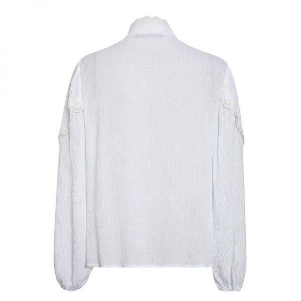 White Bohemian Blouse