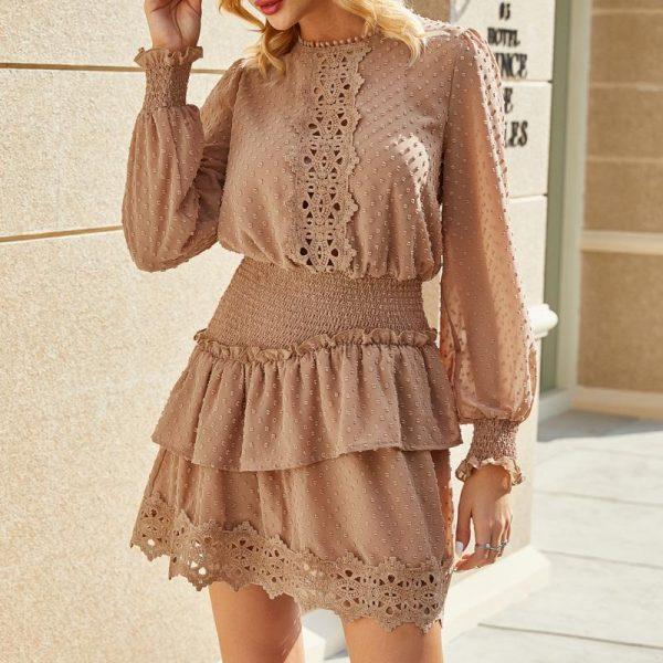 Esprit Hippie Long Sleeve Dress