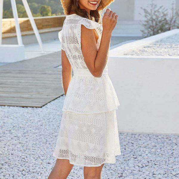 White Bohemian Women's Dress