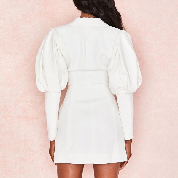 Bohemian Winter Short Dress