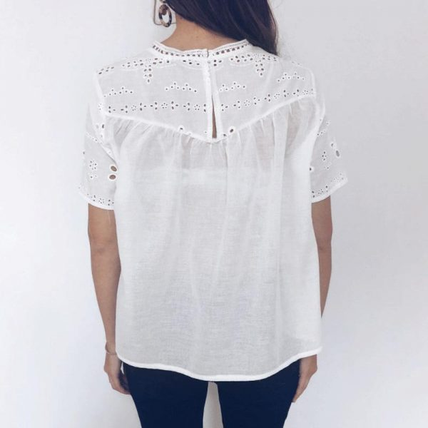 Large White Top