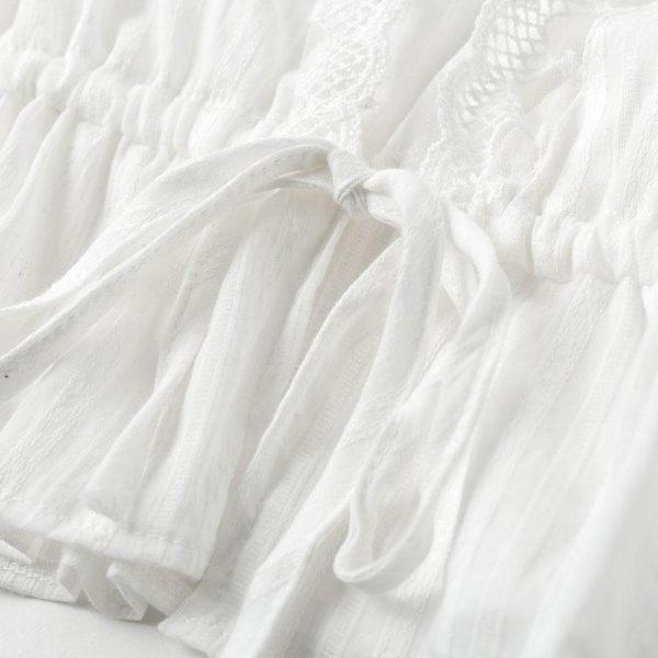 White Bohemian Top