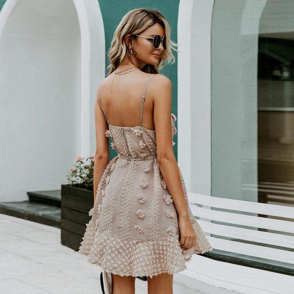 Elegant Bohemian Short Dress