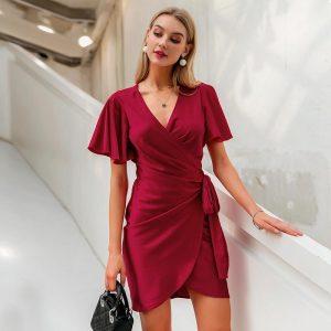 Bohemian Chic Wrap Dress