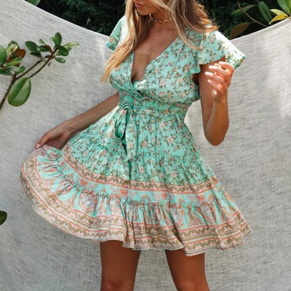 Bohemian Cover Up Dress
