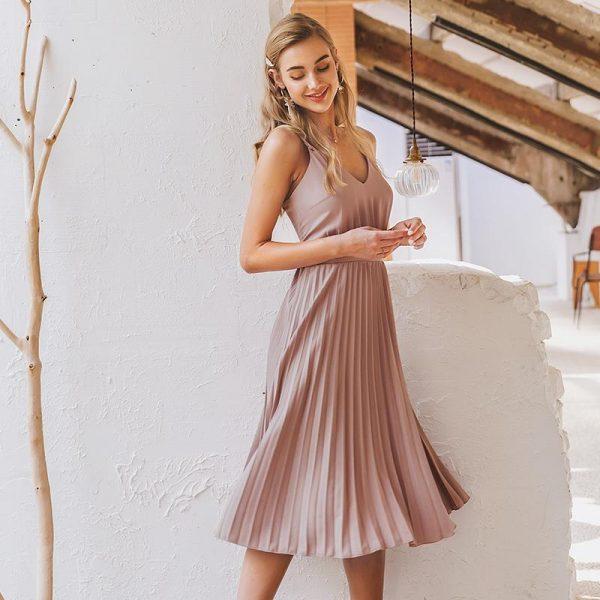 Bohemian Bridesmaid Short Dress