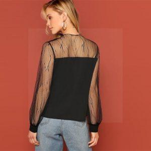 Bohemian flowing blouse