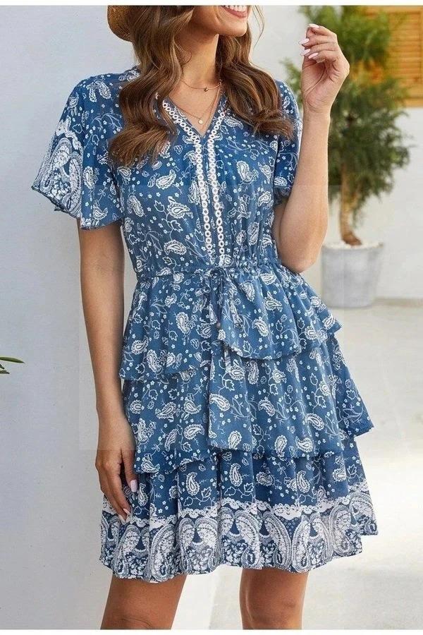 Short Boho Dresses