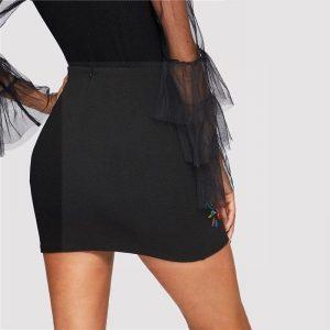 Seam skirt boheme