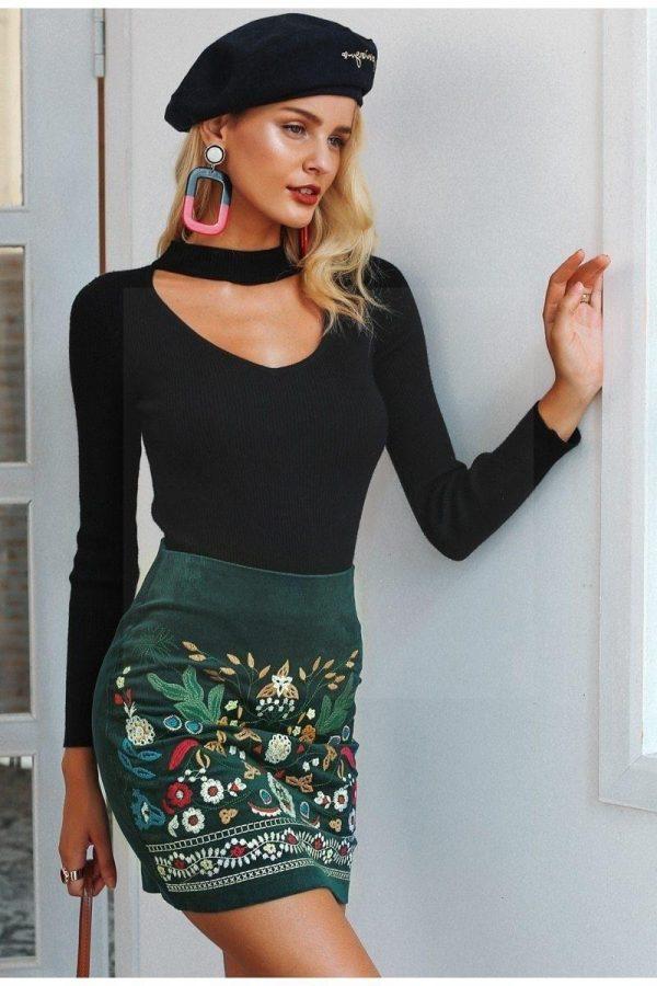 Baba cool hippie skirt