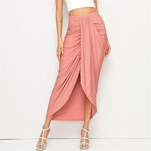 Long skirt boheme coral