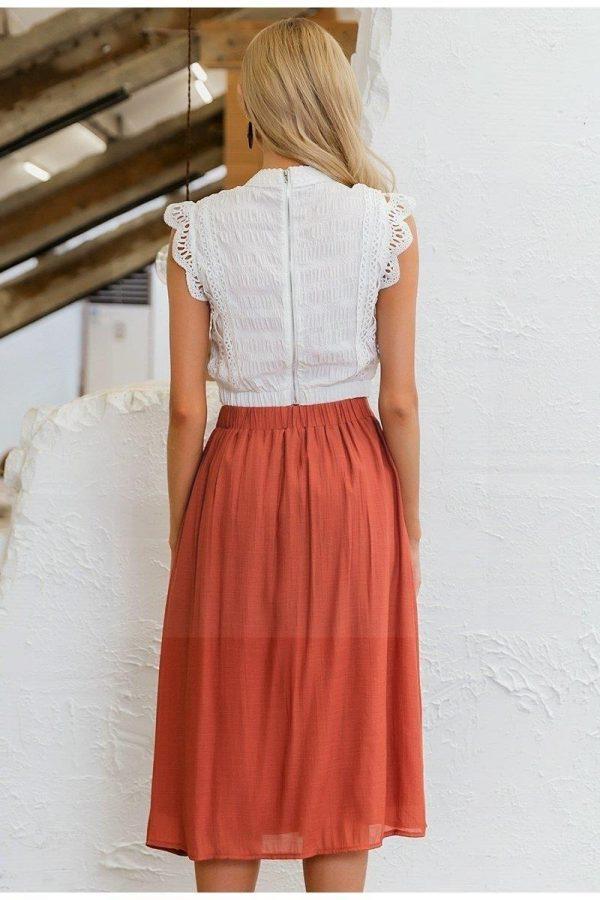 Long skirt bohemian spirit