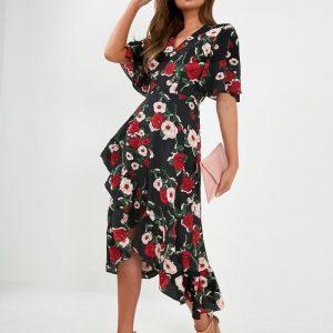 Bohemian long dress woman