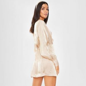 White bohemian summer short dress