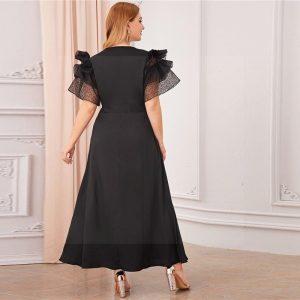 Dress maxi boheme big size