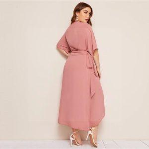 Bohemian maxi dress large size