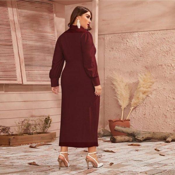 Dress bohemian style large size