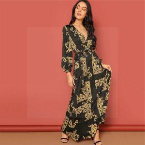 Bohemian style dress very chic
