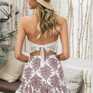 Bohemian gypsy skirt