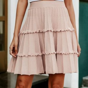 Bohemian skirt winter