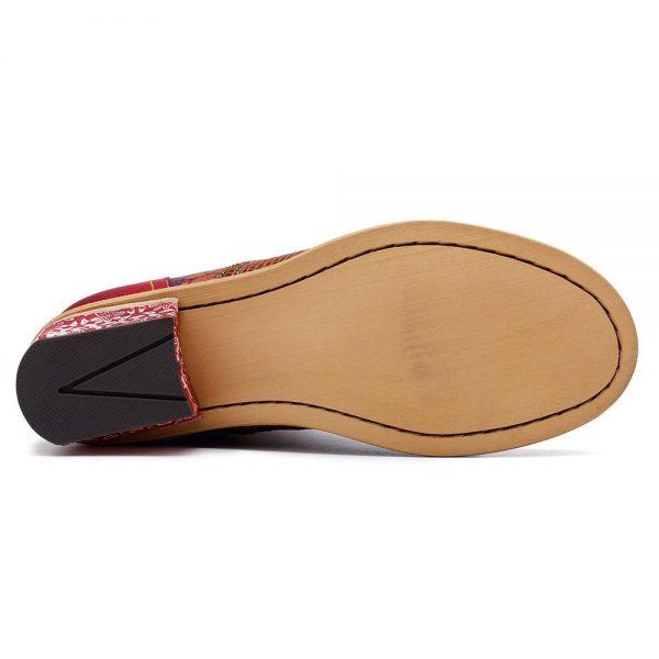 Bohemian Indian Boots