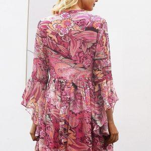 Italian bohemian chic dress