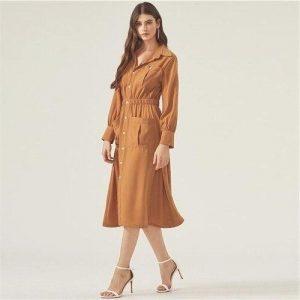 Bohemian dress high fashion