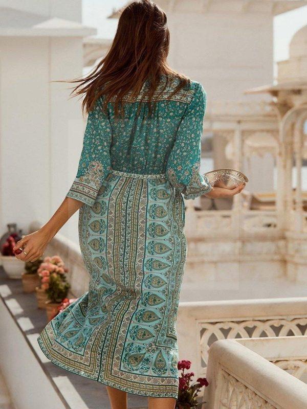 Ethnic boho dress
