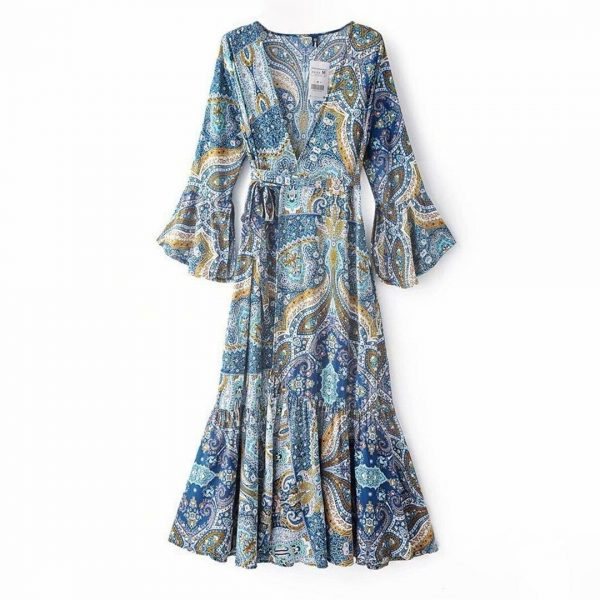 Bohemian indian dress