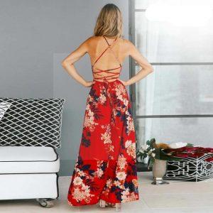 Bohemian chic summer maxi dress 2019
