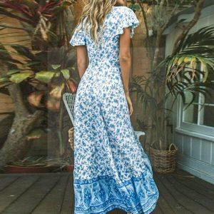 Hippie chic long dress for women